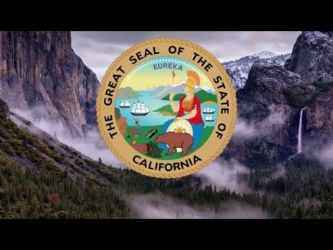 """Песня штата Калифорния - """"I Love You, California"""" (""""Я люблю тебя, Калифорния"""")"""