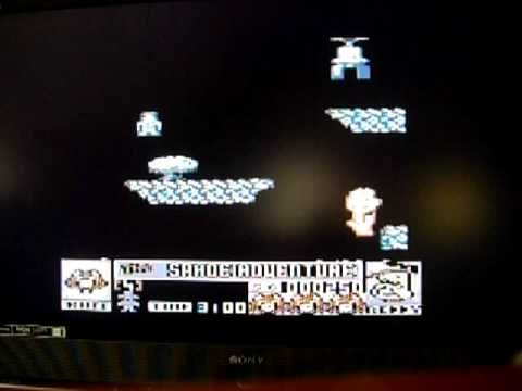 Ruff and Reddy in the Space Adventure Atari