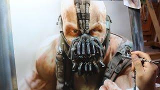 Painting Bane - Batman The Dark Knight Rises / Rafa Fonseca