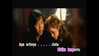 Melly Goeslow Ft Ari Lasso - Apa Artinya Cinta (lirik)