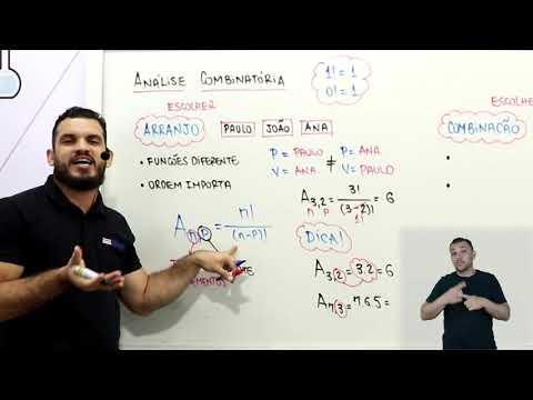 Aula 10 | Análise Combinatória - Parte 02 de 03 - Matemática