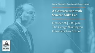 Click to play: A Conversation with Senator Mike Lee