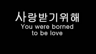 You were borned to be love (Sing along lyrics in description)