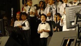 Eziah Zamora O Little Town of Bethlehem CT childrens Choir