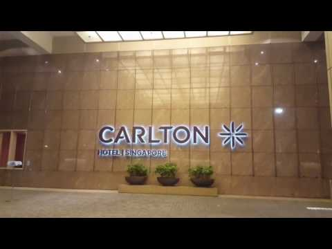 The Carlton Hotel Singapore – Video Tour of the Deluxe Room