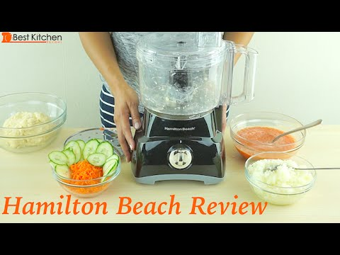 , Hamilton Beach (70670) Food Processor & Vegetable Chopper, 10 Cup, Electric