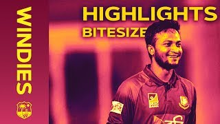 Windies V Bangladesh 2nd IT20 2018 | Bitesize Highlights