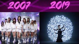 EVOLUTION OF SNSD Girls' Generation (2007-2019) (Happy 12th Anniversary)