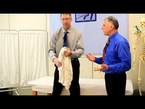 Übungen für die Brustwirbelsäule Osteochondrose
