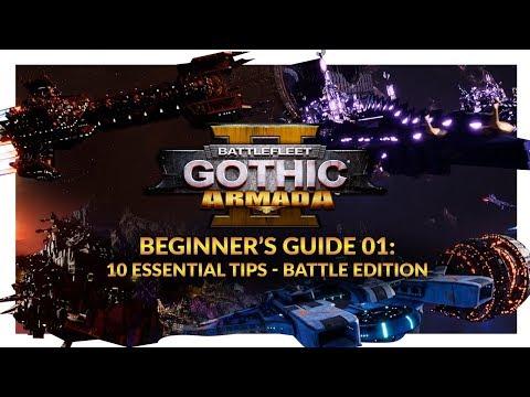 Battlefleet Gothic: Armada 2 | Beginner's Guide 01 - 10 Essential Tips (Battle Edition)