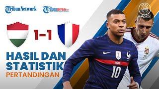 Highlight & Hasil Pertandingan Euro 2020 Hungaria 1-1 Prancis, Griezmann Selamatkan Muka Les Blues