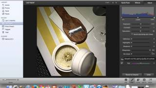 How to Edit on iphoto