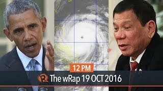 Super Typhoon Lawin, United Nations, Obama and Trump | 12PM wRap