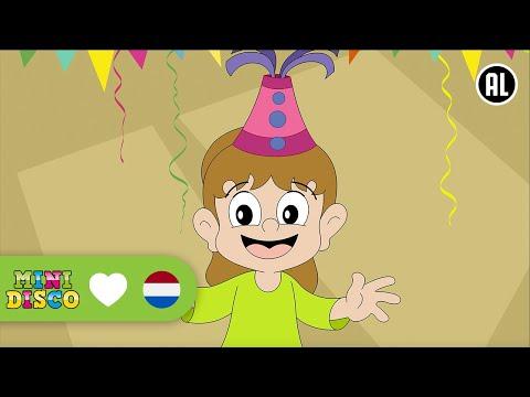 Er Is Er Één Jarig (ZIJ) | Verjaardagsliedje | TEKENFILM | Peuters en kleuters | Minidisco