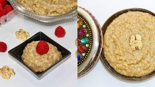 Akhrot Sheera - Walnut Halwa Pudding Video Recipe | Bhavna's Kitchen