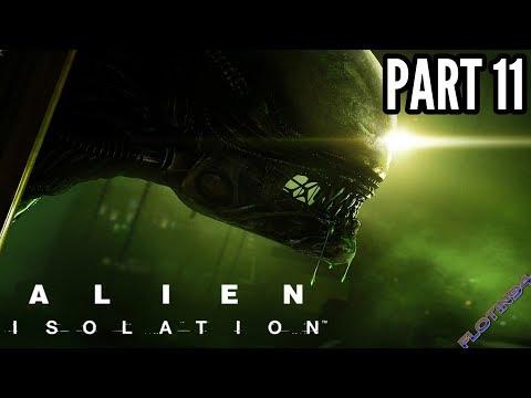 Alien: Isolation #11 | V OBLEŽENÍ