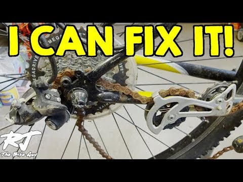 Destroyed Derailleur/Bent Twisted Hanger - I Can Fix This!