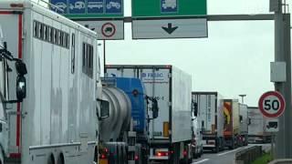 Мигранты атакуют грузовики в порту Кале (новости)