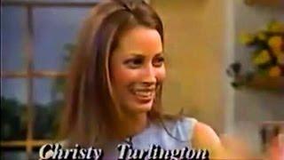 Christy Turlington - Regis & Kathie Lee Interview