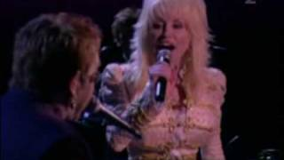 Dolly Parton + Elton John - Turn The Lights Out When You Leave (Live CMA 2005).avi