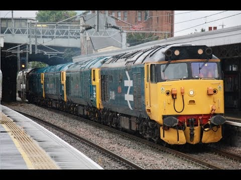 50049 leads 50007, 50044, 50035 & D1015 'Western Champion' t…