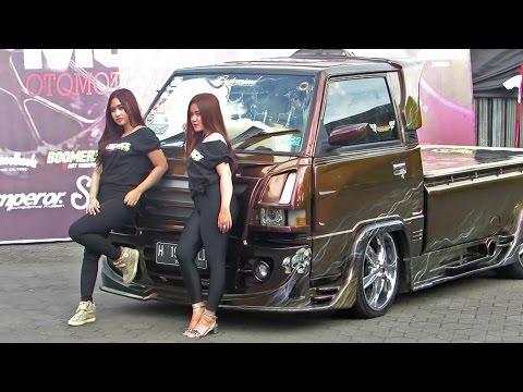 Video Pick Up Kinclong, yang Ngedeketin Juga yg Kinclong2 (Kontes Modifikasi Mobil pick up indonesia )