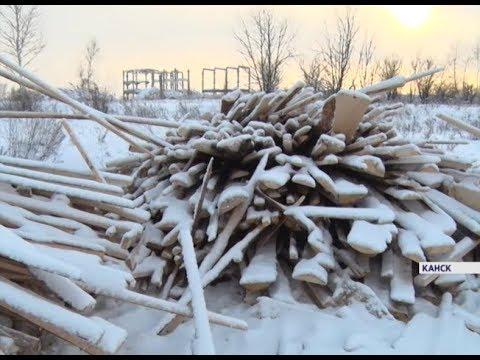 Жителей Канска беспокоят несанкционированные свалки отходов лесопереработки