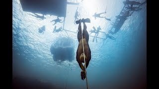 #VB2018 Alexey Molchanov's World Record Dive to 130m