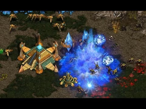 P - Squall (Z) v WhiteRa (P) on Heartbreak Ridge - StarCraft  - Brood War REMASTERED