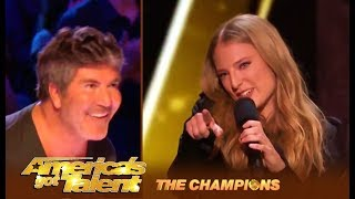 Sara & Hero: Simon Cowell's FAVORITE Act Is Back! | America's Got Talent: Champions
