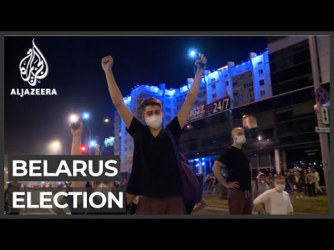 Belarus: Lukashenko wins election marred by protests
