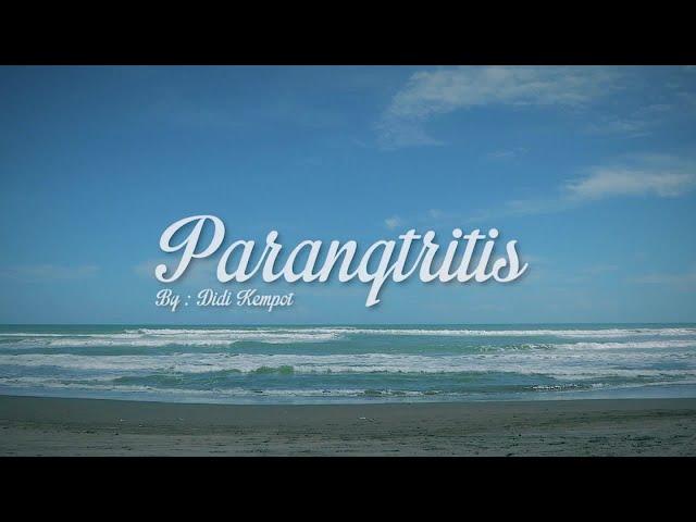 Didi Kempot - Parangtritis ( Official Lyrics Video )