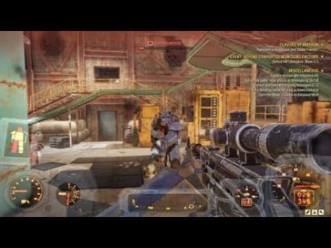 Fallout 76-Chameleon armor perk & Ammo workbench contest - смотреть