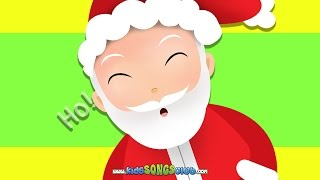 Jolly Old St. Nicholas | Christmas Songs with Action And Lyrics | KidsSongsClub Christmas Carols