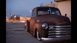 Stoner's Speed Shop Bagged Chevy Timelapse Build 1949 Sema Truck Savage Roadkill Patina Dubstep