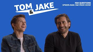 Tom Holland and Jake Gyllenhaal Answer Fan Questions for Spider-Man: Far From Home
