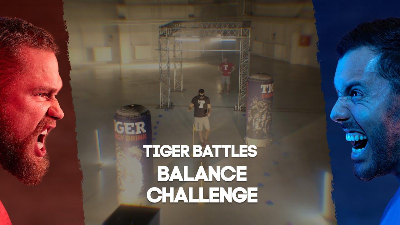 Tiger Battles! Tkadlčík vs Dostál: Balance Challenge