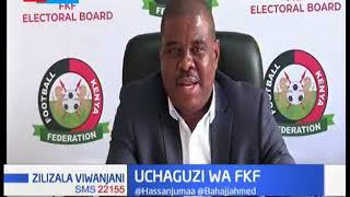 Wagombeaji katika uchaguzi wa FKF wawakilisha stakabadhi zao   ZILIZALA VIWANJANI