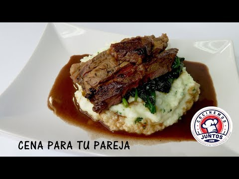 Como preparar una cena especial  para tu pareja