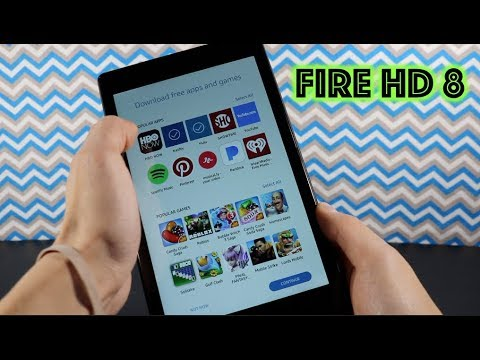 Amazon Fire HD 8: Best Tablet Under $100 (2018)