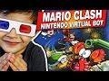 Mario Clash Nintendo Virtual Boy Gameplay Comentado Em