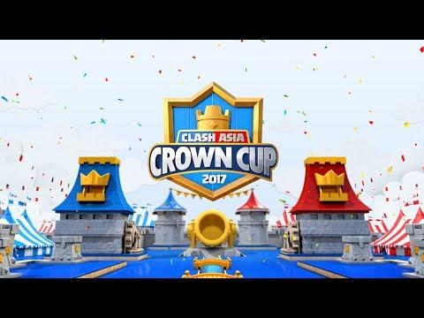 2017 皇室戰爭亞洲皇冠盃 - 16強賽A、B小組第一輪