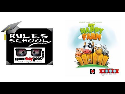 The Game Boy Geek Teaches You How to Play (Rules School) My Happy Farm