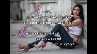 Tereza Kerndlová Schody z nebe + text