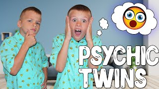Mind Reading Psychic Twins - Twin Telepathy Challenge!!