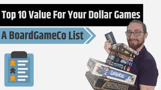 Top 10 Value For Your Money Board Games