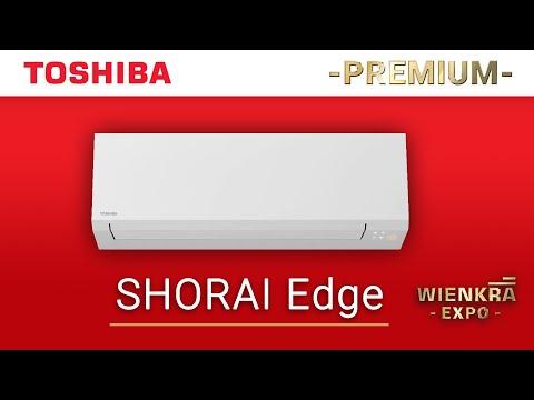 Klimatyzator pokojowy Toshiba Shorai Edge | Premium