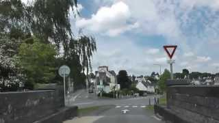 preview picture of video 'Driving On Rue Marcel Milin & Rue Amiral Bauguen, Châteaulin, Brittany, France 26th May 2013'