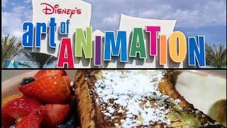 Breakfast At Disneys Art Of Animation Resort