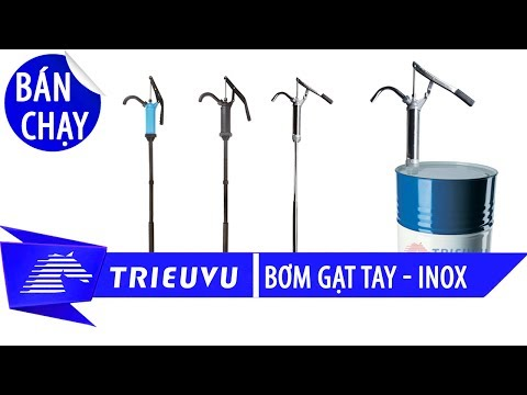 bom hut hoa chat tu thung phuy sat 200 lit   tvp 07y